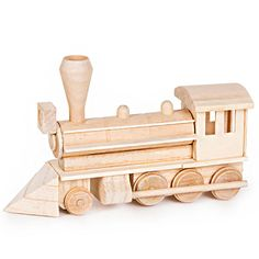 Caboose /& coal car Quality Solid Oak wooden handcrafted train kit to assemble