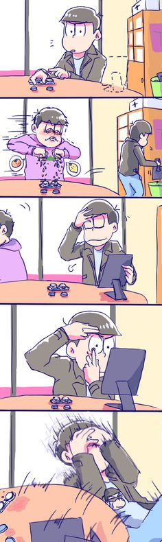 Osomatsu-san- Karamatsu and Ichimatsu asshole XD All Anime, Anime Love, Anime Manga, Rin Okumura, Funny Images, Funny Pictures, Filthy Memes, Osomatsu San Doujinshi, Ichimatsu