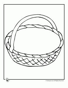 Printable May Day Baskets & May Day Coloring Pages - Woo! Jr. Kids Activities