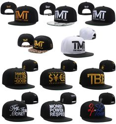 Find More Baseball Caps Information about TMT hats The Money Team Snapback  hats Men baseball caps be5575c7ccf