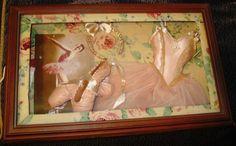 Ballerina Shadow Box beautiful home decor girls room
