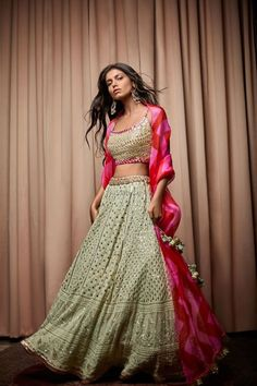Indian Wedding Outfits, Bridal Outfits, Indian Outfits, Indian Bridesmaids, Bridesmaid Outfit, Bridesmaid Saree, Designer Lehnga Choli, Lehnga Dress, Lehenga Choli