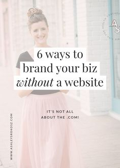 Branding your business - 6 ways to brand your business without a website! – Branding your business