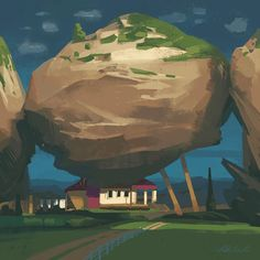 """""""Living Under a Rock"""" 🏠 The best thing about living under a rock is you always have an excuse not to know just what the hell is going on…"""