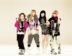 Love Dara's hair, earrings, and Jacket, CL's pants, and Bom's dress ^ 3 ^
