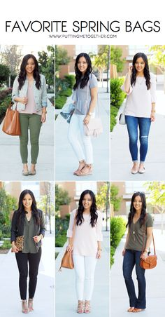 My Favorite Bags for Spring