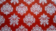 Beautiful Indian Fabrics In Damask Print. A Unique Block Print Fabric To Die For! http://etsy.me/1QvuUfR