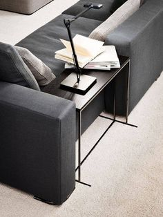 Modern sofa side table ideas you can use in your room 10