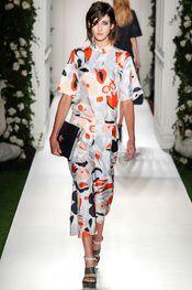 Mulberry -  Pasarela London Fashion Week S/S 2014