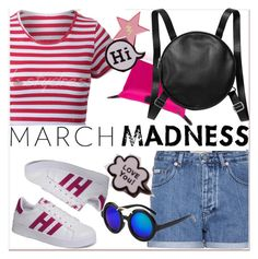 """""""March Madness: High Tops 4"""" by paculi ❤ liked on Polyvore featuring Calvin Klein Jeans, Monki, hightops and nastydress"""