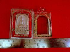 Thai Amulet Phra Somdej Bang Khun Prom Buddha Blessed Cased Temple Box Charm   eBay