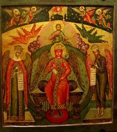 Sophia wisdom enthroned