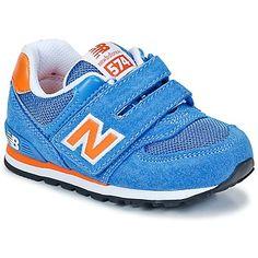 KV574 Blau-  Dieser Sneaker der Marke New Balance ist perfekt für die Füße unserer Jüngsten.