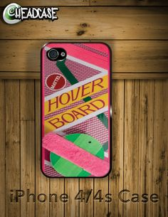 Back to the Future Hover Board - iPhone 4 4s Hard Case Cover. $19.99, via Etsy.