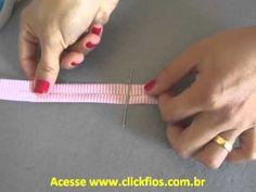 Como fazer viés com tecido - dobrar na medida p/ passar a ferro automaticamente