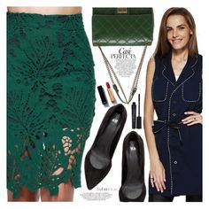 """""""Job Interview"""" by vanjazivadinovic ❤ liked on Polyvore featuring Chanel, Whiteley, Smashbox, polyvoreeditorial and twinkledeals"""