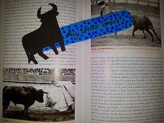 Marcapáginas de goma eva #diy #hazlotúmisma #laboresenlaluna #marcapáginas #gomaeva #toro #lectura #Ay!toritobravo #torito