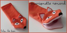 marionnette renard Sock Puppets, Finger Puppets, Sewing Tutorials, Sewing Projects, Projects To Try, Childrens Gifts, Kids Gifts, Baby Toys, Kids Toys