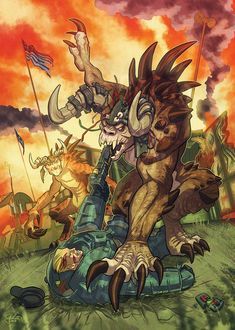Deathclaw Rampage by GalooGameLady on DeviantArt Fallout Fan Art, Fallout Concept Art, Fantasy World, Fantasy Art, Final Fantasy, Lagann Gurren, Fallout Cosplay, Nuclear Winter, Shadow Wolf