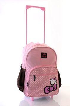 HELLO KITTY Limited Edition Pink Brown Wheeled Trolley Bag/Travel bag/School Bag Hello Kitty, http://www.amazon.co.uk/dp/B008IJI1Q0/ref=cm_sw_r_pi_dp_ox6Fsb1ACMV0M
