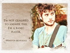 winston marshall- best quote EVER.