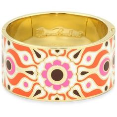 """Kate Spade New York """"Idiom Bangles"""" Carry A Torch - Hinged"""
