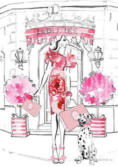 Керри Хесс (Kerrie Hess) – известный иллюстратор из Австралии. В настоящее время Керри сотрудничает с известными брендами Chanel, Kate Spade New York, Louis Vuitton, Collette Dinnigan, Net-a-Porter и многими другими. Ее иллюстрации регулярно печатаются в Vogue Australia, а также в Instyle, Harper's Bazaar, Marie Claire и многих других модных журналах.