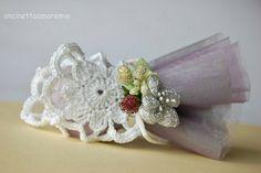 Legatovagliolo fiore doppio: wedding crochet
