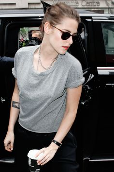 Kristen Stewart in Toronto for TIFF 15 - style September 2015 // all my life, I've lived for loving you