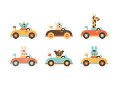 Cars #Illustration Design