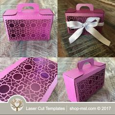 Product Laser cut wedding gift box template. @ shop-msl.com Wedding Gift Boxes, Wedding Gifts, Paper Box Template, Laser Cutting, Wedding Designs, Gift Wrapping, Templates, Shop, Wedding Thank You Gifts