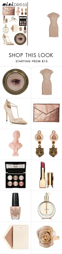 """""""Untitled #520"""" by teresamargit ❤ liked on Polyvore featuring Raishma, SJP, Rebecca Minkoff, Cire Trudon, Gucci, Witchery, Clarins, OPI, Dempsey & Carroll and Hop Skip & Flutter"""