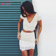 Find More Homecoming Dresses Information about White short tight homecoming…
