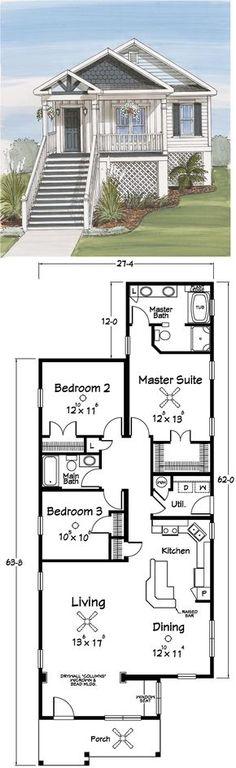small coastal cottage ~~~elitedesignerhomes.com