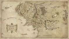 Maps of Middle Earth First Age | map to show the expanse of Middle Earth
