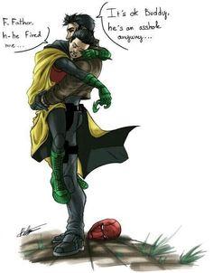 Memes Batman, Im Batman, Batman Robin, Batman Arkham, Batman Art, Batman Stuff, Jason Todd Batman, Damian Wayne Robin, Jason Todd Robin
