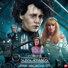 Romance Film, Fantasy Romance, Tim Burton, Danny Elfman, Castle On The Hill, Movie Synopsis, Vincent Price, Edward Scissorhands, Fantasy Films
