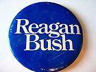 Reagan/Bush 1980 Election Campaign Button - 1980, Button, Campaign, Election, REAGANBUSH
