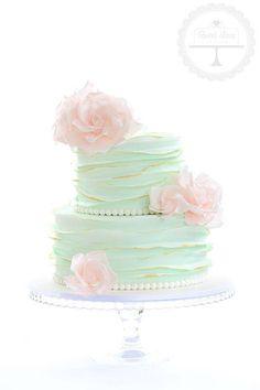 Shoe and make up pleated cake by Emmazingbakes CakesDecorcom
