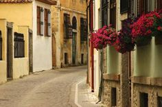 Streets in the old town of Xanthi, Thrace, Greece Flora Und Fauna, Into The West, Thessaloniki, Old City, Macedonia, Planet Earth, Old Town, Old Things, Street View