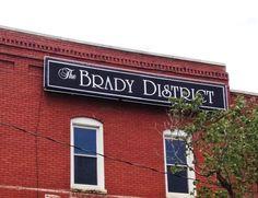 Brady District. Tulsa, Oklahoma