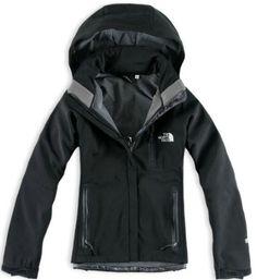 Black Stytle North Face Windstopper Jacket For Women Location