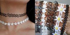 Diamond Necklace / Diamond Cluster Necklace in Solid Gold / Curved Bar Diamond Cluster Necklace with Baguette Diamond and Round Diamonds - Fine Jewelry Ideas Diy Choker, Diy Necklace, Choker Necklaces, Diy Jewelry, Jewelery, Jewelry Making, Hemp Jewelry, Estilo Indie, Tattoo Choker