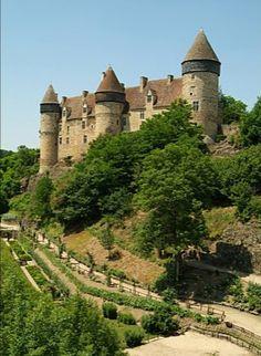 chateau de Culan. Centre