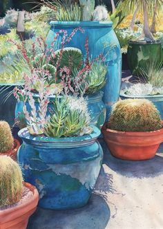Gorgeous Lorraine Watry Watercolor Reflections: National Watercolor Society All Members Show 2011