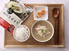 gomtang beef-bone soup Korean Beef Soup, Bone Soup, Beef Bones