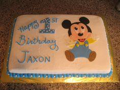 Baby Mickey 1st Birthday!