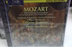 Mozart The Freemason Music 16 Track CD Album Sealed Import