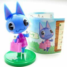Rosie Animal Crossing, Nintendo Switch Games, Pikachu, Egg, Plush, Japan, Mini, Cards, Animals