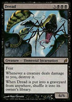 Magic the Gathering Dread